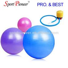 75CM yoga gym ball Anti burst gym ball rubber exercise ball