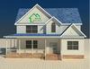 Light steel structure villa ,simple design villa