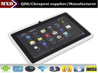 7inch RAM 512MB DDR3call-touch smart tablet pc all winner a13 1.5ghz