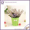 fuchsia k1250decoration pacote artificial mini flor bouquet