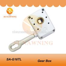 Copper Wheel 1:16 Awning Gear Box