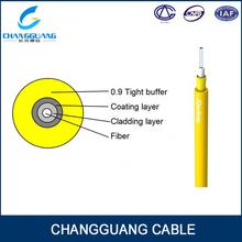 GJFJV Fiber Optic Cable 2 Core Indoor Flexible Single mode fiber optic cable equipment