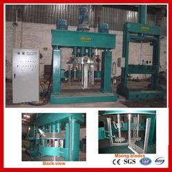 machine for fluid tire repair sealant