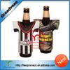 Jersey design custom promotional beer cooler,beer bottle cooler
