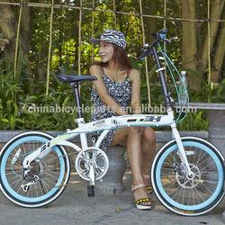 2014 China mini aluminum hummer folding bike for sale