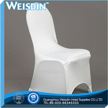 plain dyed made in China spandex/nylon damask chair cover organza sashes