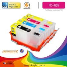 New compatible 655 refill ink cartridge for hp deskjet 3525