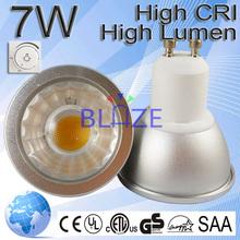 Innovative Energy Saving Products Energy Star 7W >80Ra 60 Degree GU10 2700-7000k Saving Energy