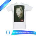 100% algodão t camisas t - shirts com nenhuma marca máquina de carimbar camisetas
