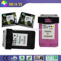 China supplier for hp 122 122xl ink cartridge compatible for hp officejet deskjet printer