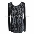 New style Autunm fashion long sleeve women t shirt