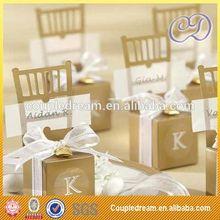 Luxury Merci Chocolate Packaging Box For Wedding Gift