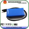 12v 24ah li-ion battery pack with bms and charger switch