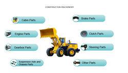 Construction machines Spare Parts loader Parts