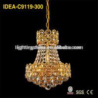 Low price fluorescent light fixture cover ,pineapple chandelier, party decor chandelier C9119