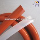 high temperature silicone material insulation pipe