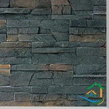 Artificial stone brick texture