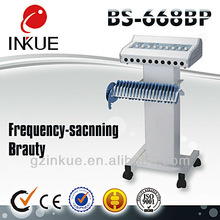 BS-668BP professional microcurrent beauty salon machine/slimming toning and relaxing