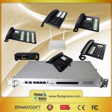 voip service provider 8 fxo port Asterisk IP PBX/voip gateway APX5008