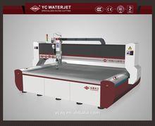 China high accuracy water jet marble/glass/metal cutting machine