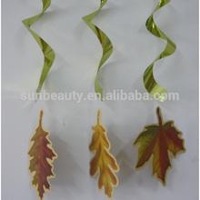 Paper Handmade Artificial Maple Leaves Design Swirls