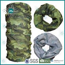 Multi-purpose seamless tube mens camo bandana