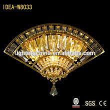 Fancy power outlet hotel wall lamp fan shape wall light