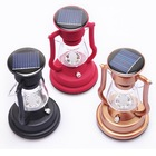 Black/ red/ coppery LED camping light,solar camping lantern, solar camping light with 1.2V/ 600MAH Lithium battery
