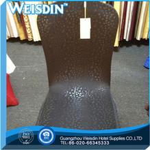 plain Guangzhou organza wholesale burgundy chiffon satin chair sash for banquet chair cover