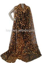 fine fashion obama french lace Modern big beaded high quality coffee