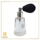 Elegant glass empty bottle for perfume eau de parfum classic refillable perfume atomizer