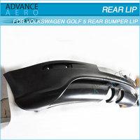 FOR 05-08 VOLKSWAGEN VW GOLF GTI 5 R32 STYLE PU REAR BUMPER LIP SPOILER BODYKITS