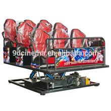Most popular 7D cinema simulator of simulation dinosaur game