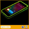 Call Text Alerts Lighting Flashing LED Clear Plastic Case for iPhone 5 5S