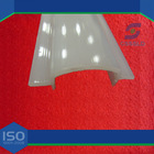 fluorescent light cover/fluorescent light fixture plastic cover
