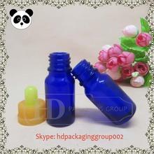 blue 10ml glass eye dropper bottles borosilicate glass dropper glass vial