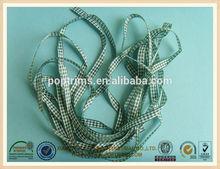 Hot Various Plaid Fabric Ribbon For Gift Description