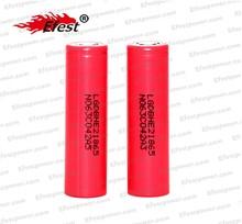 Original LG 18650 ICR18650H2 2500mah battery cell 3.7V 35amp high drain battery from Efest