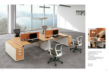 Newest office workstation table Kailin furniture open desking KL-42