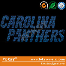 carolina panthers iron on transfer paper