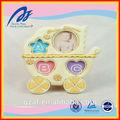 Atacado de quatro forma redonda resina resina quadro bebê imagem