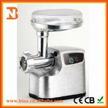 2014 kitchen appliance die cast aluminium meat grinder