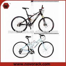 2 Bicycles Gravity Bicycle Storage Stand,stainless steel bike rack