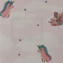 K5521 horse cloud cartoon wallpaper for kids room