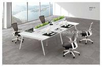 Vit open custom office furniture open 4 person office workstation desk