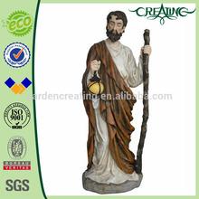 "67"" European St.Francis Standing Garden Statue -Large Saint"