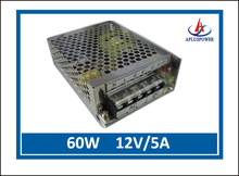 60W 12V5A CCTV switching power suppply, low ripple & noise, high efficiency