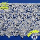 (Factory YJC067) Garment eyelash lace trim polyester white