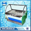 ar sistema de refrigeração sorvete vitrine frigorífico
