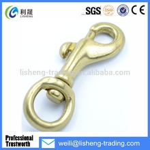 brass double snap swivel hooks